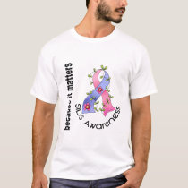 SIDS Flower Ribbon 3 T-Shirt