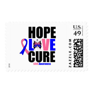 SIDS Hope Love Cure Postage Stamps