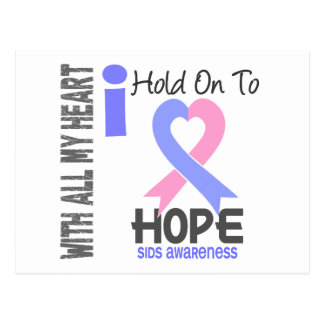 SIDS I Hold On To Hope Postcard