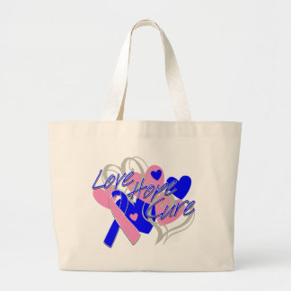 SIDS Love Hope Cure Canvas Bag