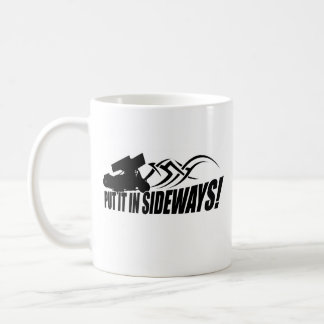 Sidways2 Classic White Coffee Mug