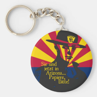 Sie Sind in Arizona... Papiere! Keychain