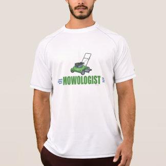 Siega chistosa del césped camisetas
