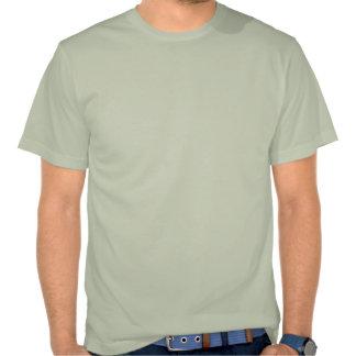Siega divertida del césped camisetas