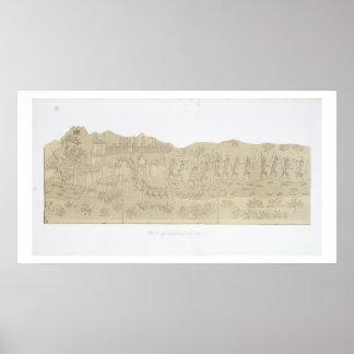 Siege and Plunder of a City, Koujunjik, plate 40 f Poster