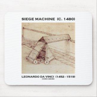 Siege Machine (C. 1480) Leonardo da Vinci Mouse Pads