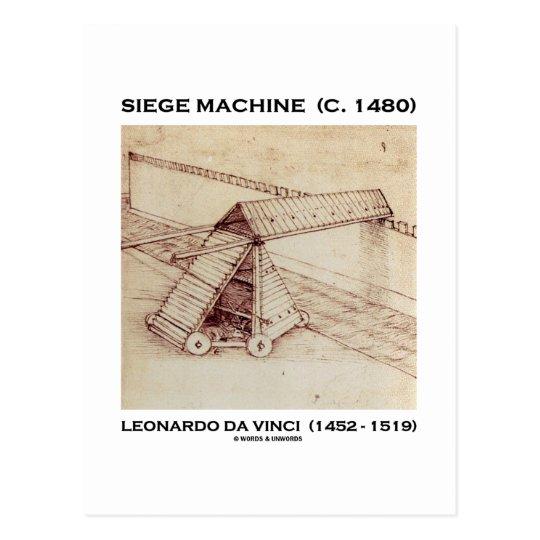 Siege Machine (C. 1480) Leonardo da Vinci Postcard
