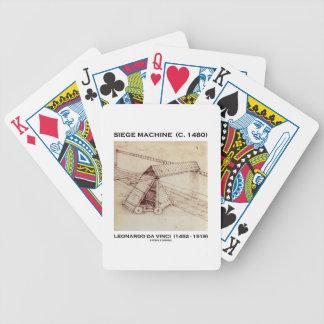 Siege Machine (Circa 1480) Leonardo da Vinci Bicycle Playing Cards