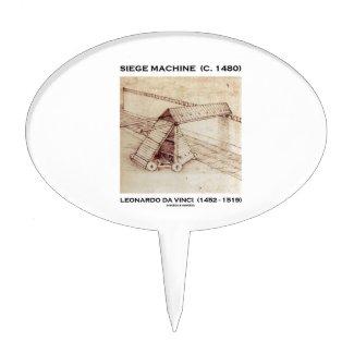Siege Machine (Circa 1480) Leonardo da Vinci Cake Topper