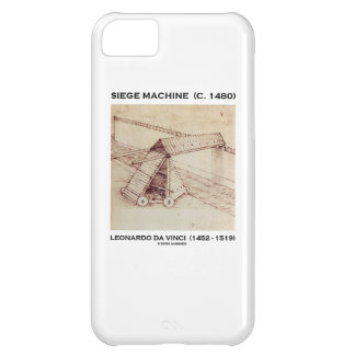 Siege Machine (Circa 1480) Leonardo da Vinci Cover For iPhone 5C