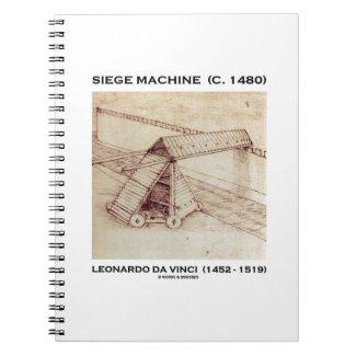Siege Machine (Circa 1480) Leonardo da Vinci Spiral Notebook