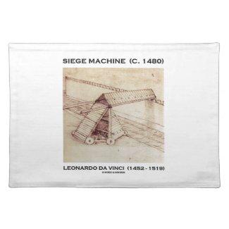 Siege Machine (Circa 1480) Leonardo da Vinci Placemats