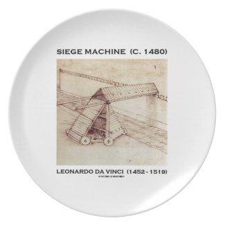 Siege Machine (Circa 1480) Leonardo da Vinci Plates