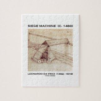 Siege Machine (Circa 1480) Leonardo da Vinci Puzzles