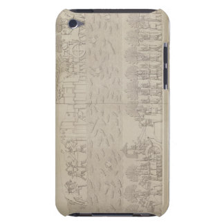 Siege of a city on the bank of a river, plate 42 f Case-Mate iPod touch case