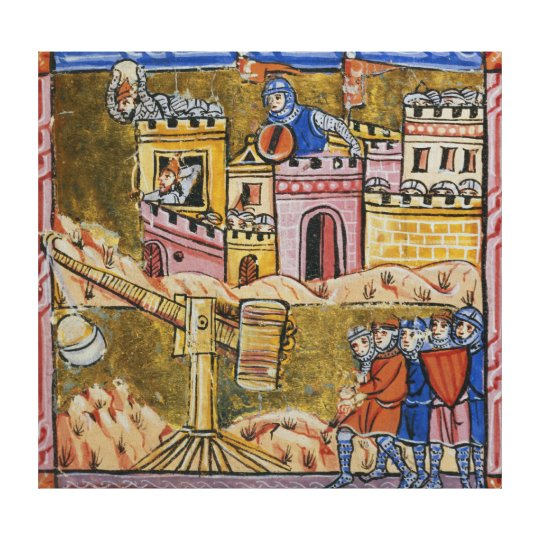 Siege of Antioch Canvas Print