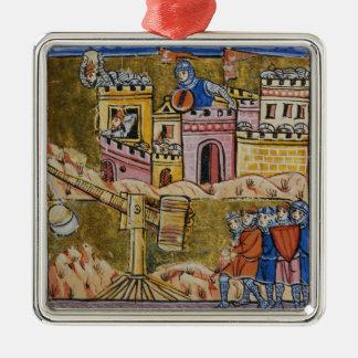 Siege of Antioch Metal Ornament