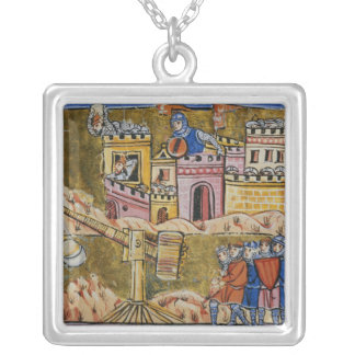 Siege of Antioch Silver Plated Necklace