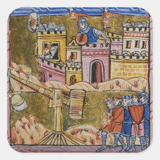 Siege of Antioch Square Sticker