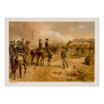 Siege of Atlanta by L. Prang & Company 1888 Poster
