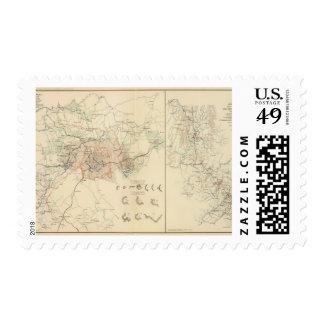 Siege of Atlanta Stamp