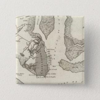Siege of Charleston Pinback Button