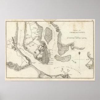 Siege of Charleston Print