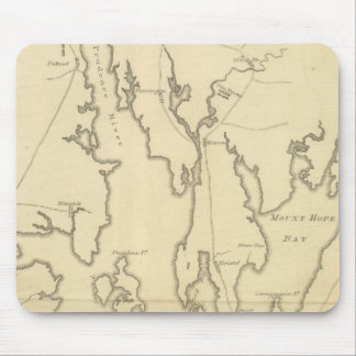 Siege of Newport, Rhode Island Mouse Pad
