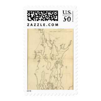 Siege of Newport, Rhode Island Postage