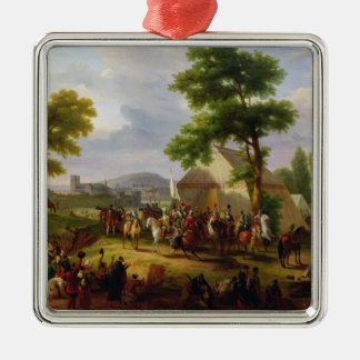 Siege of Paris by Henri IV  in 1593, 1818 Christmas Tree Ornament