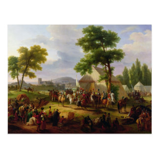 Siege of Paris by Henri IV  in 1593, 1818 Postcard