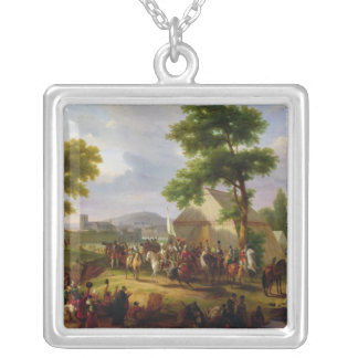Siege of Paris by Henri IV  in 1593, 1818 Silver Plated Necklace