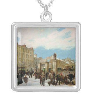 Siege of Paris Silver Plated Necklace