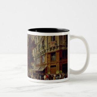 Siege of Paris Two-Tone Coffee Mug