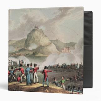 Siege of San Sebastian,  engraved by Thomas 3 Ring Binder