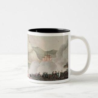 Siege of San Sebastian,  engraved by Thomas Two-Tone Coffee Mug