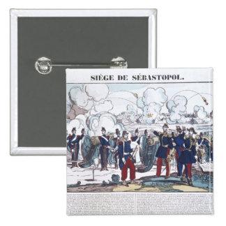 Siege of Sebastopol, 1854-55 Pinback Button
