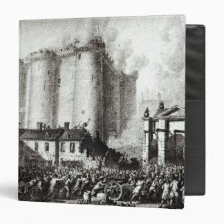 Siege of the Bastille, 14th July 1789 3 Ring Binder