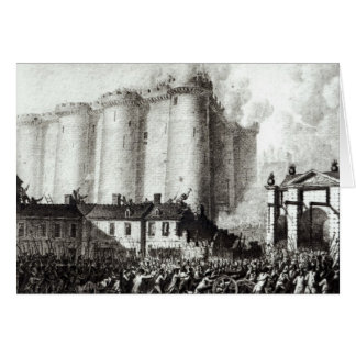 Siege of the Bastille, 14th July 1789 Card