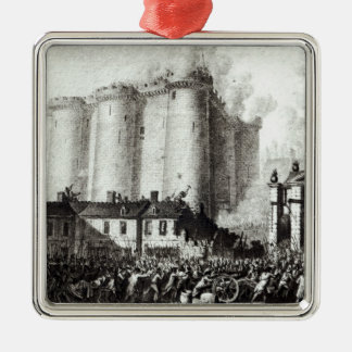 Siege of the Bastille, 14th July 1789 Metal Ornament