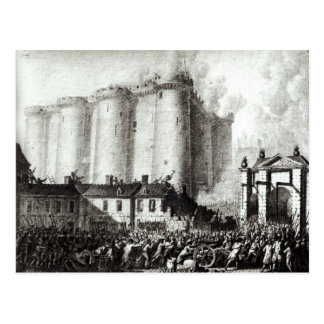 Siege of the Bastille, 14th July 1789 Postcard