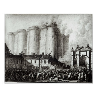 Siege of the Bastille, 14th July 1789 Poster