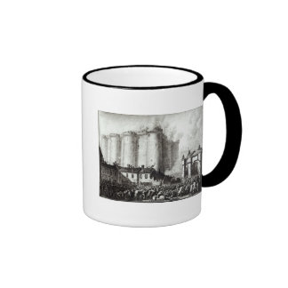 Siege of the Bastille, 14th July 1789 Ringer Mug