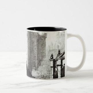 Siege of the Bastille, 14th July 1789 Two-Tone Coffee Mug