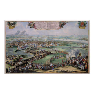 Siege of the Castle Philipsburg Germany Poster