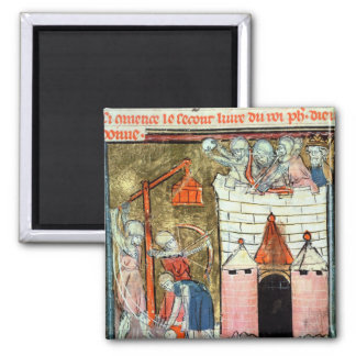 Siege of the Chateau de Chinon Magnet