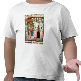 Siege of the Chateau de Chinon T-shirts