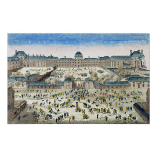 Siege of the Chateau des Tuileries Poster