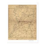 Siege of Vicksburg - Civil War Panoramic Map 2 Post Cards