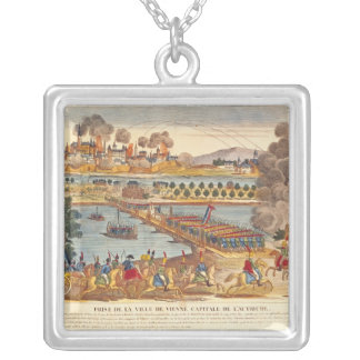 Siege of Vienna, 10th May 1809 Silver Plated Necklace